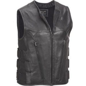 NWT! Wilsons Leather Heavyweight Motorcycle Vest